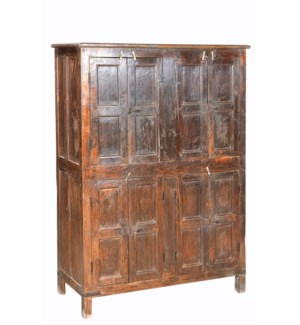 Lg Cabinet w/ 4 Dbl Door Cuboards -41.3x15.7x55.1 inches