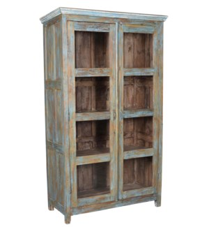 Large Kitchen Cabinet w/4 Shelves - 44.5x19.3x72.8 inches