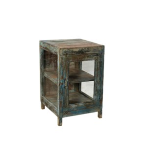 VINTAGE SMALL GREEN CABINET