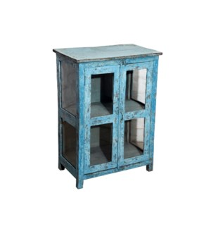 VINTAGE SMALL BLUE CABINET