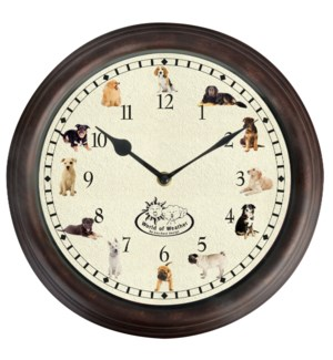 Clock dog sounds