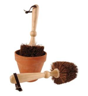 """""""flower pot brush. Ashwood, co"""""""