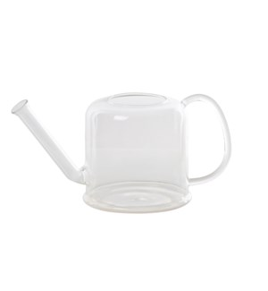 Indoor watering can glass low