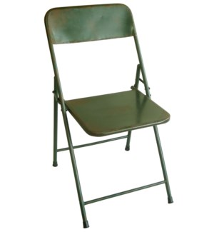 """Bistro Chair, Green OS"""