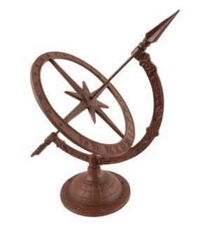 Cast iron sundial Sl. Cast iro