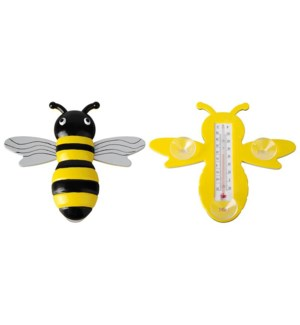 Bee window thermometer. Plasti