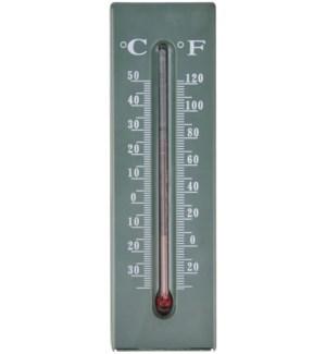 """""""Keykeeper thermometer. PP, glass, kerosine. 5,2x2,8x16,2cm. oq/12,mc/144 Pg.97"""""""