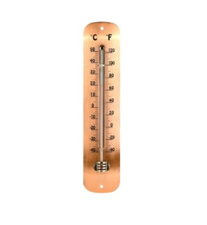 Thermometer copperplated