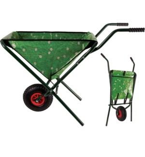 Wheelbarrow grass