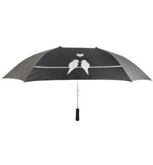 Lover umbrella. Pongee