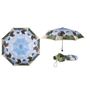 Foldable umbrella cow. 190T Polyester, metal, PP. 100,0x100,0x55,7cm. On sale 35% off!