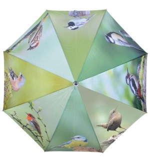 Umbrella birds. Polyester, metal, wood. 120,0x120,0x95,0cm. oq/12,mc/48 Pg.116