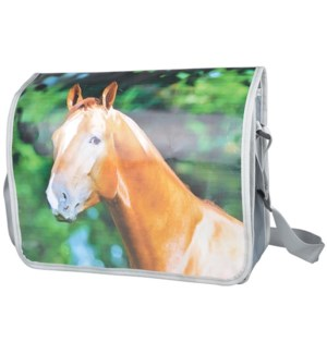 Shoulder bag horse. Polyester