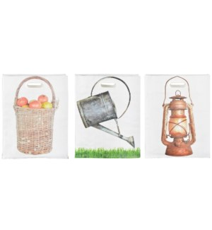 Shopping bag carry garden item