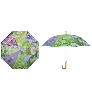 Umbrella flowers. Polyester, metal, wood. 120,0x120,0x95,0cm. oq/12,mc/48 Pg.116