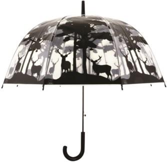 Umbrella transparent forest - (31.5x31.5x31.7 inches)