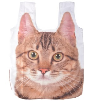 Foldable shopping bag cat L - (15.2x2.4x23.2 inches)