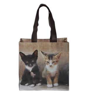 Shopping bag kittens S - 10x4x9.75 inches
