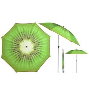 Parasol kiwi - 72.75x72.75x89.25 inches