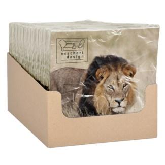 Paper napkins lion 33x33cm - 6.75x6.75x1.25 inches