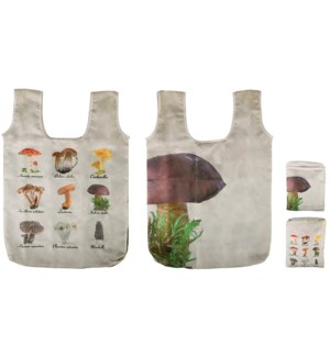 Foldable bag collectibles mushrooms - 16.1x1.6x23.4in.