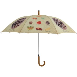 Umbrella collectibles trees, Polyester, metal, wood - 47.2x47.2x37.4in.