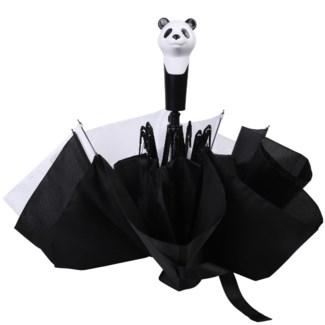 Foldable umbrella panda