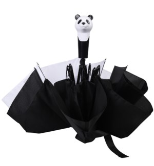 Foldable umbrella panda