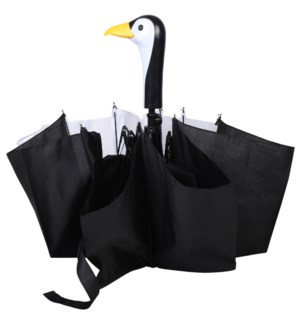 Foldable umbrella penguin