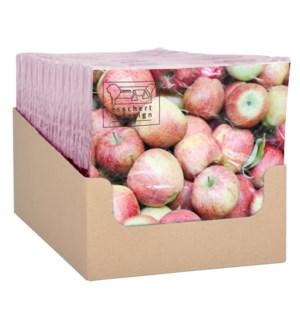 Paper napkins apples 33x33cm