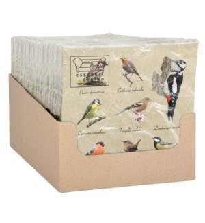 Paper napkins bird collection