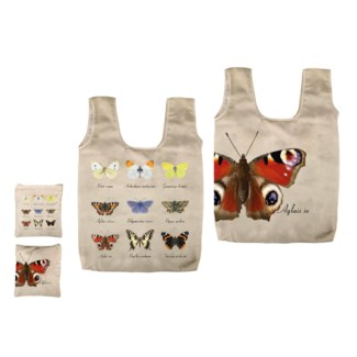 Foldable bag butterfly collection