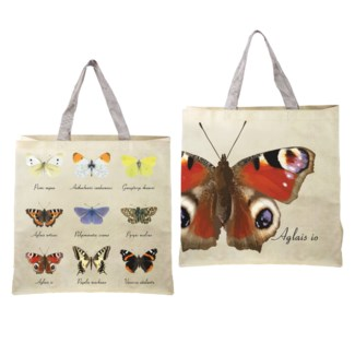 Shopping bag butterfly collection