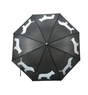 Umbrella reflector dogs - (41.3x41.3x33.5 inch)