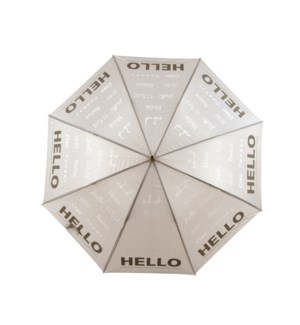 Umbrella reflector Hello - (41.3x41.3x33.5 inch)