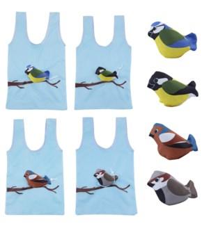 Foldable bag bird ass.