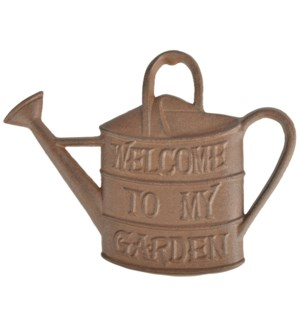 Wall decoration watering can.