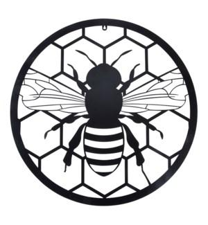 Wall art round bee