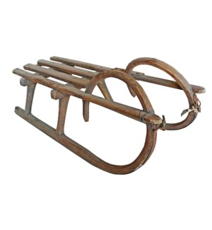 """""""Rare Wooden Curly Sleds L, OS"""""""
