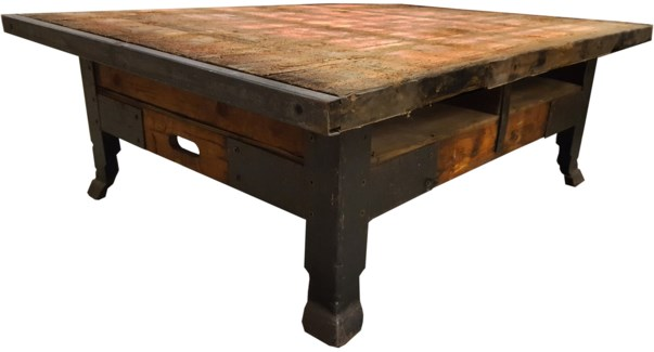 Antique Industrial Pallet CoffeeTable