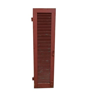 Antique French Red Shutter OS