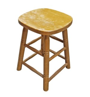 France 1870 Antique Stools, 19x11x15 Inch