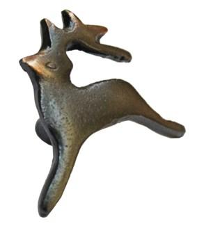 Reindeer Knob, Iron, 2.4 x 2