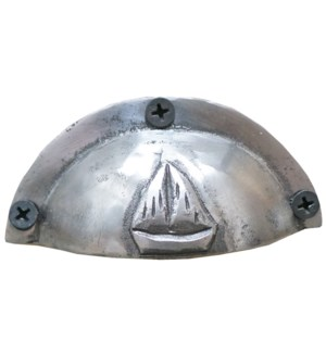 Sailboat Drawer Pull Polished