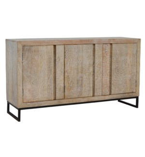 Retro Wood Sideboard