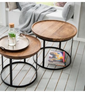 Cameron Side Table Set/2