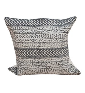 """Annie Patterned Cushion, Blue LC"""