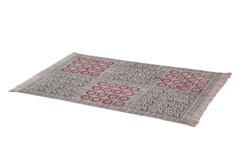 Ronderbosh Rug (Carpet) 100% cotton, 3.9ftx5.9ft  * ON SALE 35% OFF ORIGINAL PRICE OF $84*