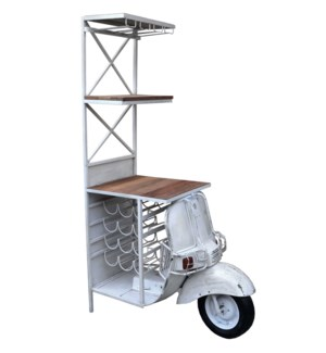 Iron Scooter Bar WineRack LC