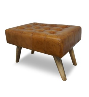 HAMMINGWAY LEATHER STOOL